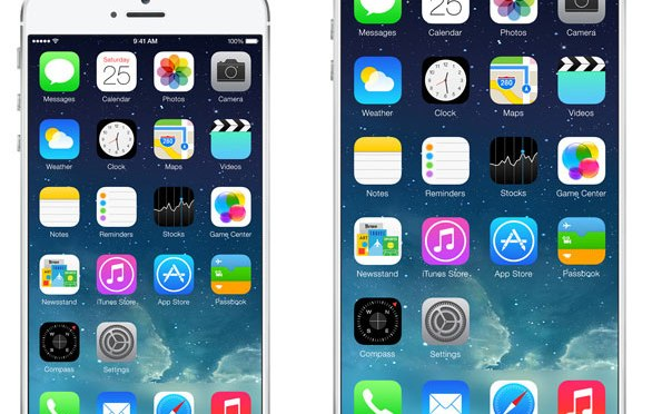 Rumours point to the iPhone 6 having a 4.7 inch screen