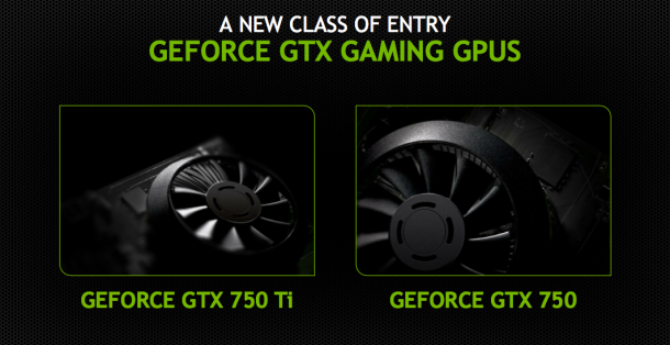 Nvidia unveils Midrange GPUs : GTX 750 and GTX 750Ti with all new Maxwell architecture