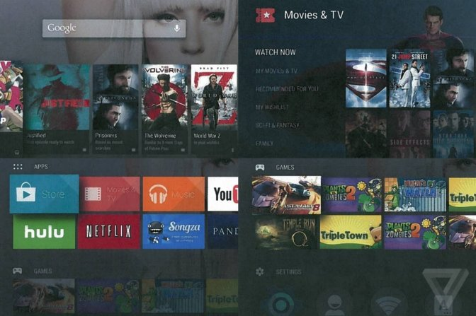 Google reportedly developing Android TV, a simplified version of Google's ill-fated Google TV
