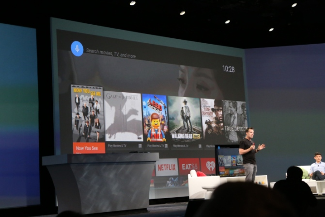 Android TV at I/O