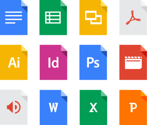 Google Drive Supported Formats