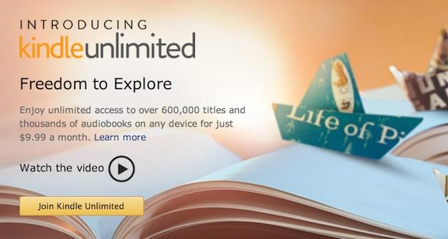 Amazon Kindle Unlimited Books