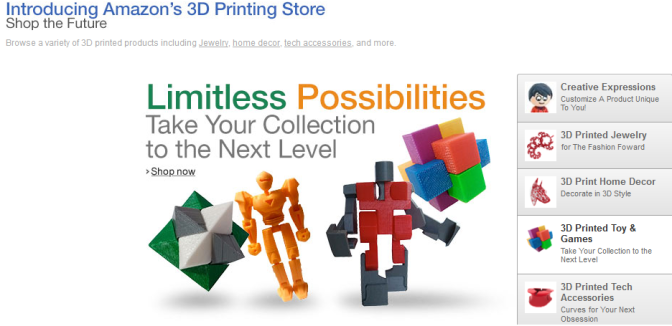 Amazon 3D Printing Store Images