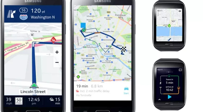 Nokia's HERE Maps come to Android, but only for Samsung Devices