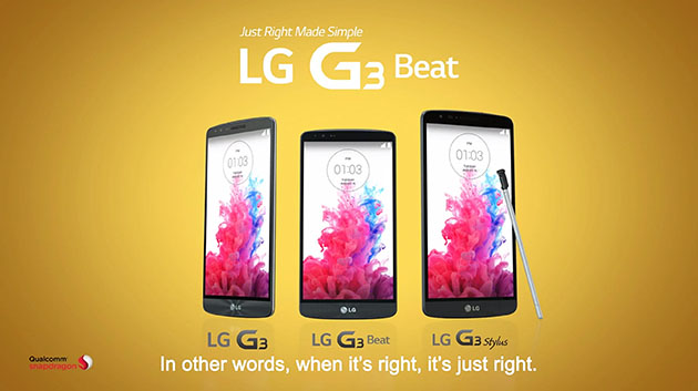 The LG G3 Stylus Phablet leaks in Official LG Video