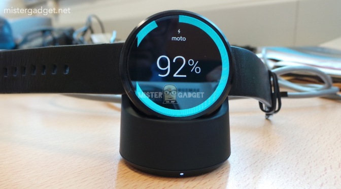 Leak: The Moto 360's Charger looks just as Futuristic as the Moto 360