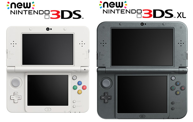 Nintendo announces new 3DS Variants
