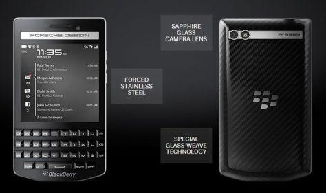 Blackberry announces new Porsche Design Smartphone