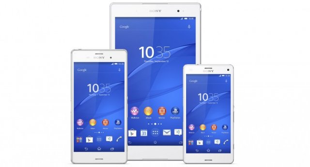 Sony launches the Xperia Z3, the Z3 Compact and the Z3 Tablet Compact