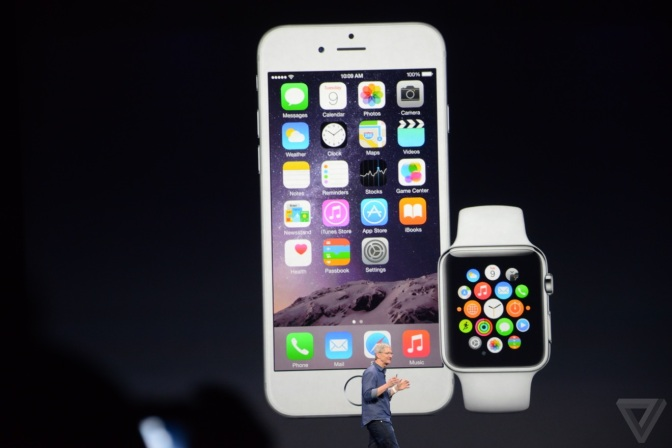 Apple announces the Apple Watch