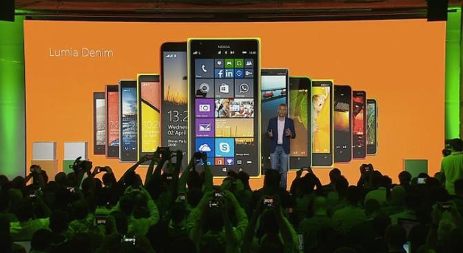 Microsoft Lumia Denim with Handsfree Cortana
