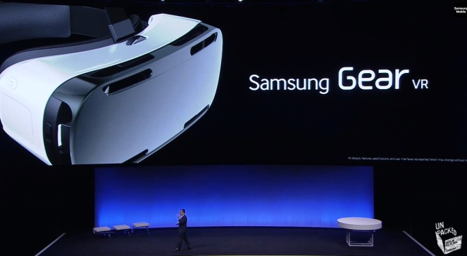 Samsung Gear VR: Smartphone for Virtual Reality