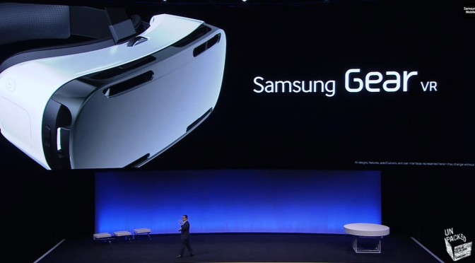 Samsung partners up with Oculus for Gear VR: Turns your Smartphone in to a VR Headset