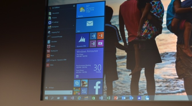 Wanna try out Windows 10: You're lucky, Microsoft just released the Preview Edition!