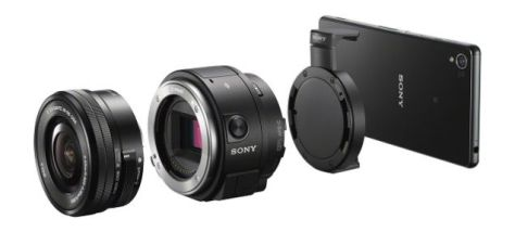 Sony QX1: Interchangeable Lenses on a Smartphone