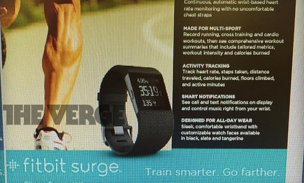 Leak: The Fitbit Surge will be a Runner's Dream come True