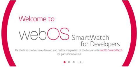 LG WebOS Smartwatch Leak