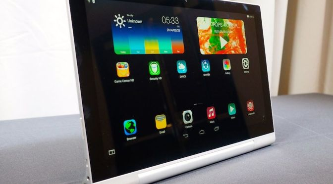 Lenovo Yoga 2 Pro Tablet with Projector